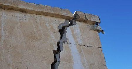 Elazığ'daki deprem, Kayseri'deki evde büyük hasara neden oldu