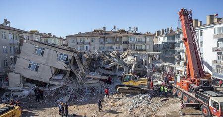 Elazığ depreminde can kaybı 38'e yükseldi!