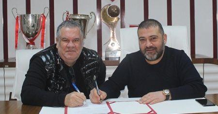Elazığspor, Levent Eriş'in sözleşmesini uzattı
