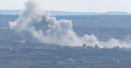 Esad ve Rus uçakları İdlib'i vurdu: 5 ölü, 20 yaralı