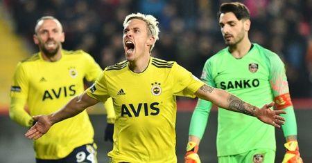 Fenerbahçe, deplasmanda Gaziantep FK'yı 2-0 yendi