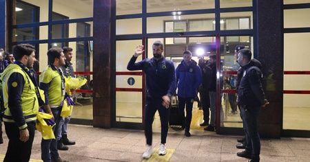 Fenerbahçe kafilesi Gaziantep'te