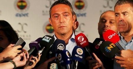 Fenerbahçe Kulübü Başkanı Ali Koç'tan takım harcama limiti açıklaması