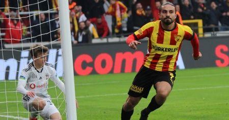 Göztepe yeni stadının ilk maçında Beşiktaş'ı yendi