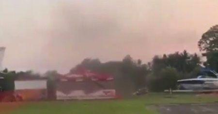 Guatemala'da akrobasi uçağı düştü: 3 ölü
