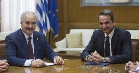 Hafter, Yunanistan Başbakanı Miçotakis ile görüştü