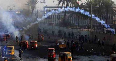 Irak'taki gösterilerde son 2 gün içinde 6 kişi öldü