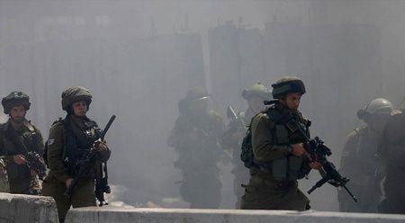 İsrail askerlerinden göstericilere müdahale: 10 Filistinli yaralandı
