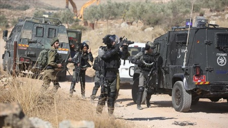 İsrail güçleri Filistinli yaşlı kadını gözaltına aldı