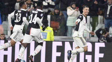 Juventus, Parma'yı Ronaldo'nun golleriyle geçti