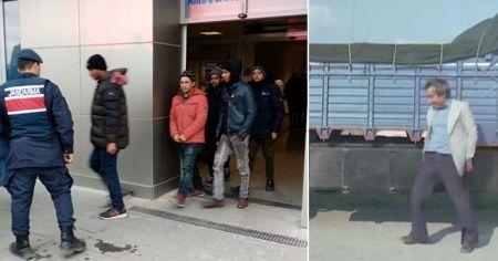 Kaçak göçmenleri Almanya diye Malkara'ya bıraktılar