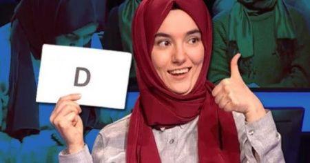Kim Milyoner Olmak İster'de yarışan Gülsüm Genç'ten sahte hesap uyarısı