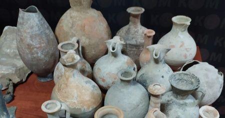 Kütahya'da 5 bin parça tarihi eser ele geçirildi: 2 gözaltı