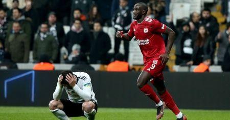 Lider Sivasspor'u Beşiktaş da durduramadı