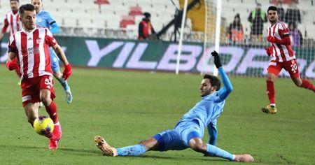 Lider Sivasspor, Rizespor'la 1-1 berabere kaldı