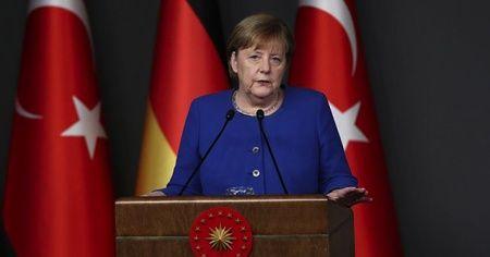 Merkel, Cumhurbaşkanı Erdoğan'a taziye mesajı gönderdi