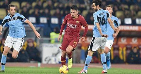 Roma derbisinde 'maçın oyuncusu' Cengiz Ünder
