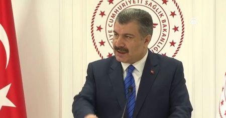 Sağlık Bakanı Fahrettin Koca'dan korona virüsüyle ilgili açıklamalar