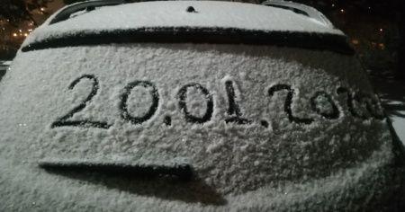 Sıcaklıklar düştü, beklenen kar yağışı başladı