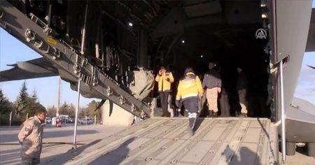 Somali'deki bombalı saldırıda yaralananlar Türkiye'ye geldi