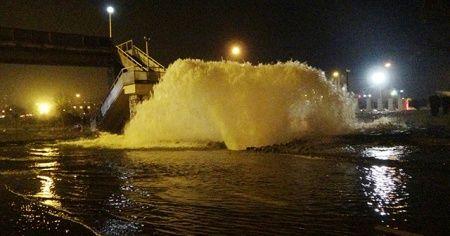 Trabzon'da ana isale hattı patladı: Karayolu ulaşıma kapandı