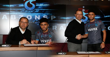 Trabzonspor'da yeni transfer!