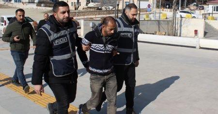 Üvey ağabeyini öldüren zanlı tutuklandı