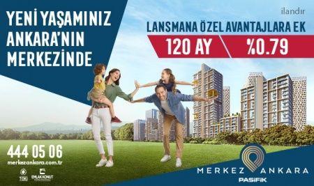 Yeni yaşamınız Ankara'nın merkezinde