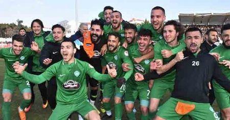Ziraat Türkiye Kupası'nda ilk çeyrek finalist Başakşehir'i eleyen Kırklarelispor oldu