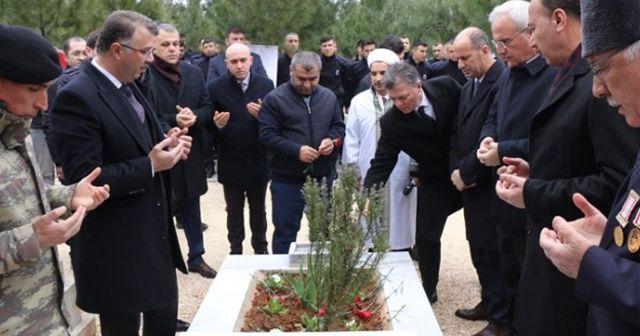 11 yaşındaki terör şehidi mezarı başında anıldı