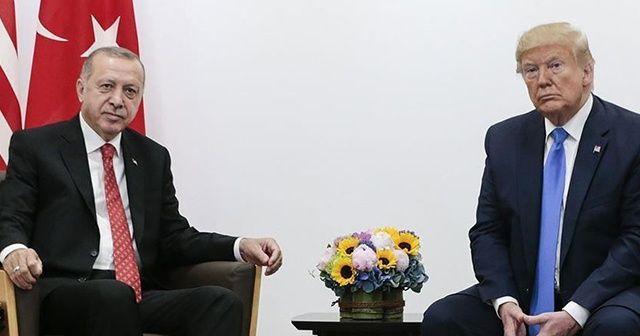 ABD Başkanı Trump: İdlib konusunda Cumhurbaşkanı Erdoğan ile beraber çalışıyoruz