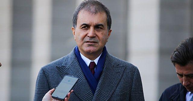 AK Parti Sözcüsü Çelik: 'Rejime verilen süre dolduğunda TSK üzerine düşen görevi yerine getirecektir'