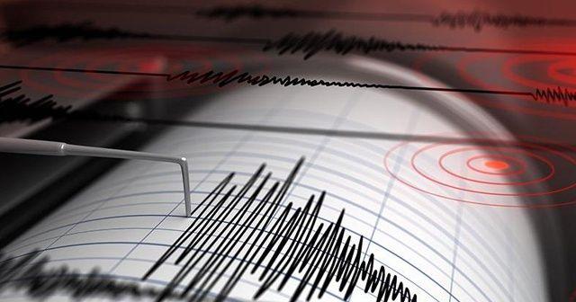 Akdeniz'de Marmaris açıklarında 4.7 büyüklüğünde deprem