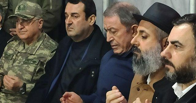 Bakan Akar'dan şehit ailesine taziye ziyareti