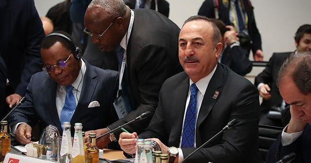 Bakan Çavuşoğlu: 'Hafter'in ihlalleri ve saldırganlığının durdurulması gerek'