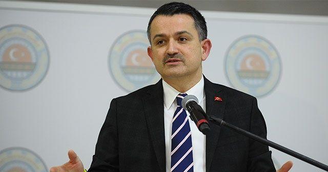 Bakan Pakdemirli: 66 milyon lira destekleme ödemesi yapılacak