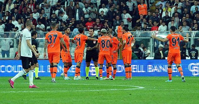 Başakşehir, 8 maçta Beşiktaş'a 1 kez kaybetti