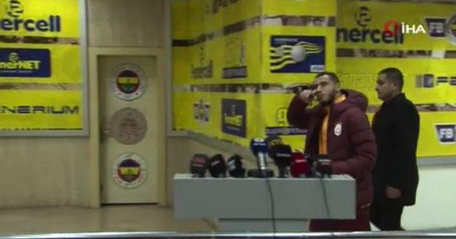 Belhanda'dan Fenerbahçe'ye gönderme