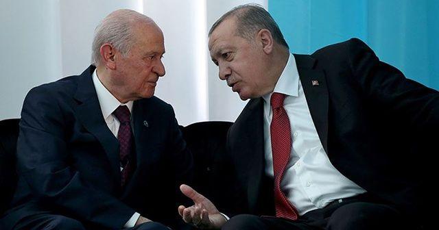 Cumhurbaşkanı Erdoğan ile Bahçeli arasında kritik görüşme!