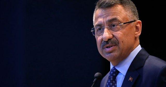 Cumhurbaşkanı Yardımcısı Oktay: 'Türkiye ve Kıbrıs Türk tarafının haksızlıklar karşısında sabrı tükendi'