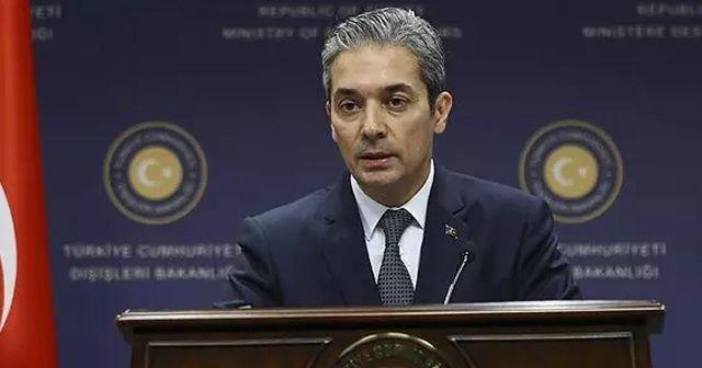 Dışişleri Sözcüsü Aksoy: Rum basınında çıkan haberler gerçeği yansıtmıyor