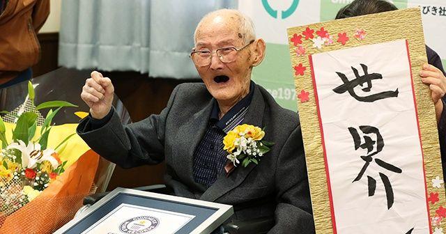 Dünyanın en yaşlı erkeği hayatını kaybetti