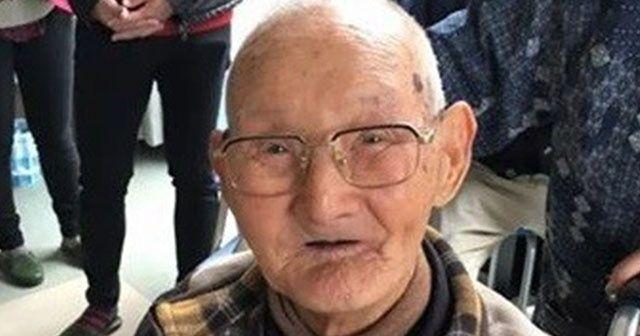 Dünyanın en yaşlı erkeği Japonya'da