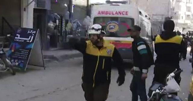 Esad rejimi İdlib'de yine sivilleri vurdu