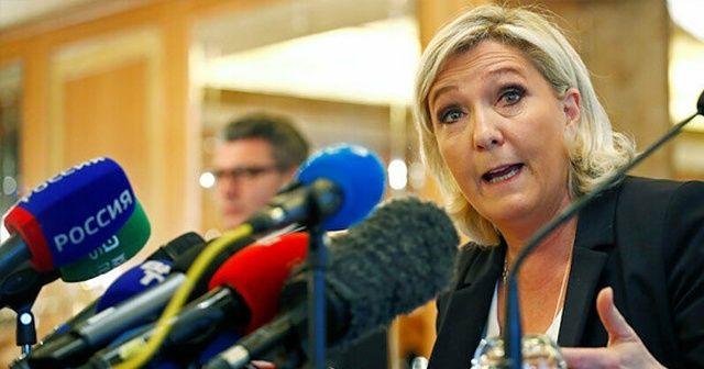Fransa'da aşırı sağcı Le Pen Fransızlardan borç istedi