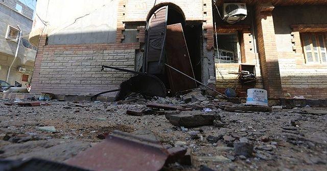 Hafter milisleri Trablus'u vurdu