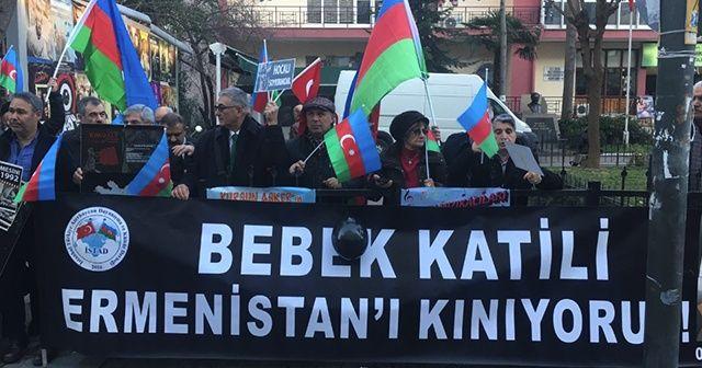 Hocalı katliamı Kadıköy'de protesto edildi