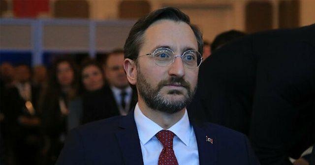 İletişim Başkanı Altun'dan PKK'lı teröristleri ağırlayan Avrupa Parlamentosu'na tepki