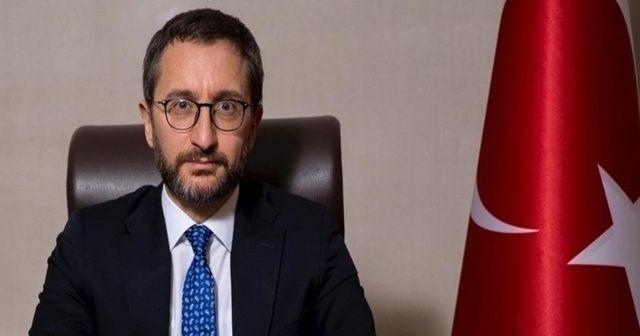 """İletişim Başkanı Altun: """"Rejimin İdlib'den sivil halkı yerinden etmesine izin vermeyeceğiz."""""""