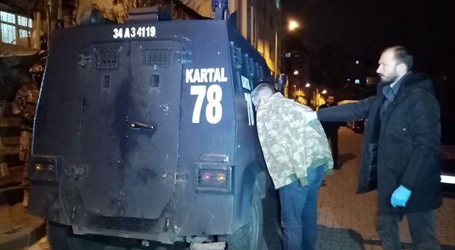 İstanbul'da şafak vakti narkotik operasyonu, 44 gözaltı var
